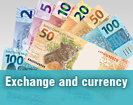 Exchange and currency